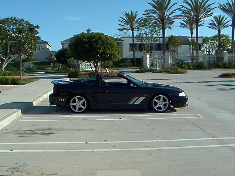 98 Mustang Saleen Supercharged Convertible 19 900